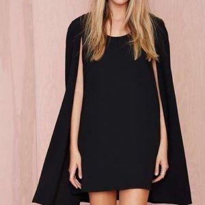 NASTYGAL (NWOT) - Sleeveless Cape Dress